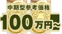 中期型参考価格 100万円〜